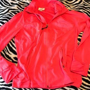 Tangerine light weight jacket